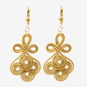 Oxumarè earrings quatrefoil