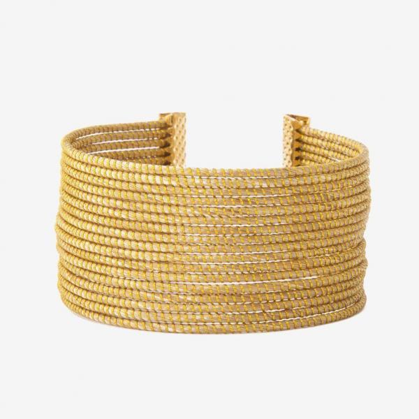 Oxumare bracciale oro